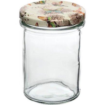 Befőző tégelyek Gastro 230 ml 6 db, magas, fedél pillangók
