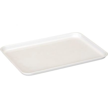 Műanyag tálca Gastro 32x23 cm, fehér