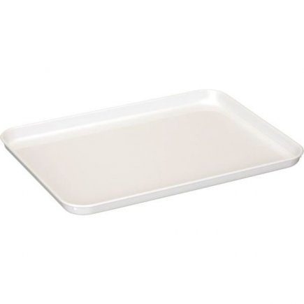 Műanyag tálca Gastro 36x26 cm, fehér