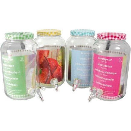 Ital automata csappal Gastro 3 l, különböző színek