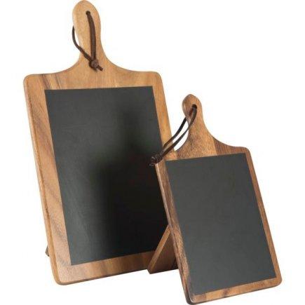 Fa asztali állvány 15x10x26,8 cm