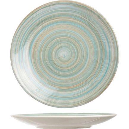 Sekély tányér Cosy & Trendy Turblino Blue 22 cm