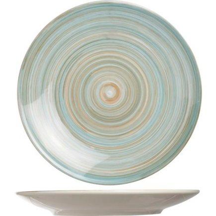 Sekély tányér Cosy & Trendy Turblino Blue 27 cm