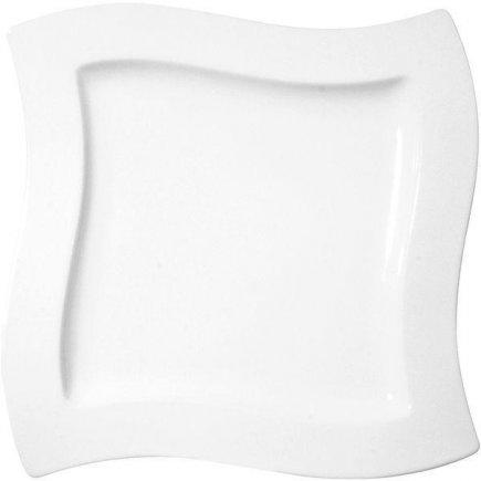 Sekély tányér kocka 27x27 cm New Wave, Villeroy & Boch