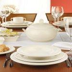 Sekély tányér 21 cm Luxor Fine Cream, Seltmann