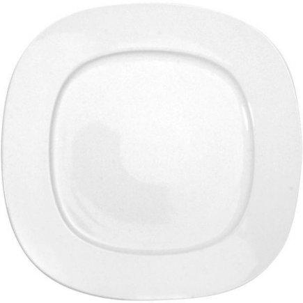 Szögletes sekély tányér 27x27 cm Thun Leon