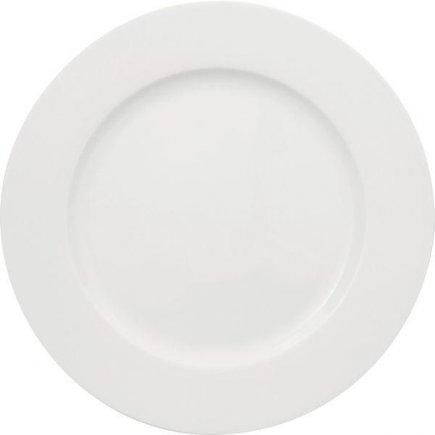 Sekély tányér 280 mm, köralakú, porcelán, Primavera modell, ESCHENBACH