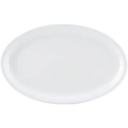 Club tányér 36x21,5 cm porcelán, Praktik, Thun
