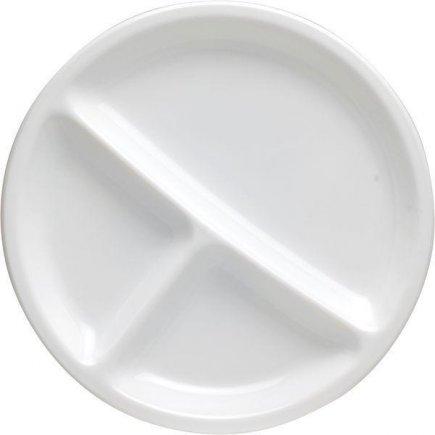 Háromrészes menü tányér Arcoroc Hotelerie 25,5 cm