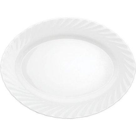 Sekély Club tányér ovális Arcoroc Trianon 35x26 cm