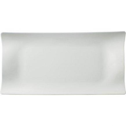Téglalap alakú Club tányér 42x22 cm, előétel, desszert, Cera, Villeroy & Boch