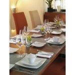 Szögletes sekély tányér 27x27 cm Finne Dining Schonwald